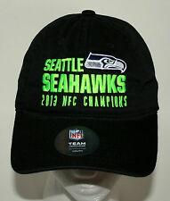 Team NFL Seattle Seahawks 2013 NFC Champions Football Cap Hat New Tags Youth