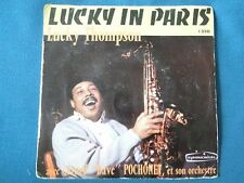 45T SP - LUCKY THOMPSON - Lucky in Paris (1230, Symphonium) RARE