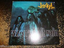 JACKYL cd single WHEN WILL IT RAIN 1 track free US shipping