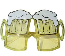 Adulto Lentes De Cerveza Disfraz Despedida Soltero Gafas sol NUEVO