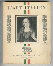 L'art Italien / Exposition du Petit Palais 1935