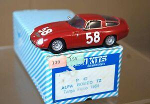 TRON 1964 ALFA ROMEO TZ TARGA FLORIO 58 ar