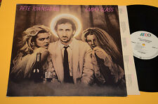PETE TOWNSHEND WHO LP EMPTY GLASS ORIG GERMANY 1980
