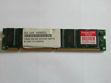 SDRAM OF 256MB BUS 133MHz AND 168PIN