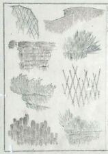 New ListingHokusai Manga - Garden Structures - An Original Woodblock Print (Woodcut)