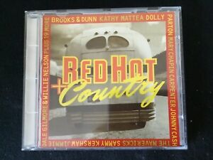 RED HOT COUNTRY Various Artists 17 Tracks 1994 CD Mercury Nashville 522 639-2