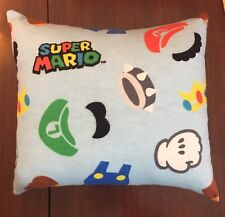 "Beautiful Handmade Super Mario Brothers Accent - Throw Pillow  10"" x 9"""