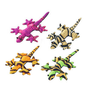 Sand Animal Gecko Toy Party Bag Filler Gift Stress Relief (Pack of 4 pieces, ...
