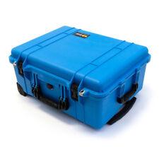 "Pelican Blue & Black 1560 case with foam.  Pelican ""Colors"" Series."