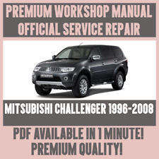 *WORKSHOP MANUAL SERVICE & REPAIR GUIDE for MITSUBISHI CHALLENGER 1996-2008