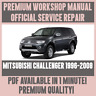 WORKSHOP MANUAL SERVICE & REPAIR GUIDE for MITSUBISHI CHALLENGER 1996-2008