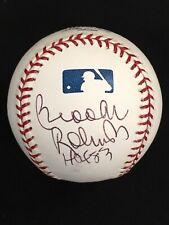 Brooks Robinson HOF 83 Baltimore Orioles Signed OML Baseball JSA CERTIFIED