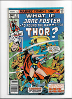 What If? #10 FN-VF Marvel (1978) Jane Foster Had Found The Hammer Of Thor