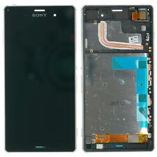 Sony Xperia Z3 D6603 Display modul LCD Touchscreen Glas Scheibe Rahmen GRÜN