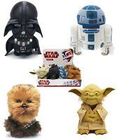 MEGA SALE STAR WARS TALKING PLUSH - CHOOSE YOUR DESIGN & SIZE - BB-8 YODA R2-D2