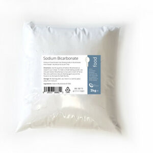 2kg SODIUM BICARBONATE of Soda / BAKING SODA / BI CARB - Fine Powder Food Grade