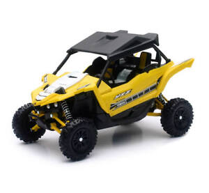 New Ray Toys 1:12 Scale Die Cast Toy Replica Yamaha YXZ 1000 Yellow