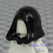 NEW Lego Minifig BLACK HOOD Star Wars Jedi/Castle Kingdom Skeleton/Dementor Hat