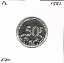 Belgium / Belgique french 50 francs 1993 BU - KM168