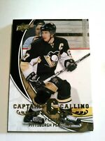 2008-09 UPPER DECK CAPTAINS CALLING COMPLETE 7 CARD INSERT SET  CROSBY SAKIC