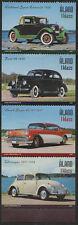 Aland 2005 Vintage Cars SG262/65 MNH in booklet strip.