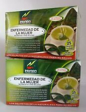 50 Tea Bags Enfermedad de la Mujer  (Women Care Blend Tea Bags)