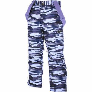 M3 Mitch Boy's Insulated Ski/Snowboard Pants Camo Large