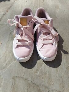 Pink puma trainers Size 8