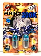 Rhino 200k Sex Pill Performance Male Enhancement Increase Size And Long Lasting