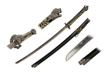 Highlander Movie Sword Katana Connor Macleod TV Golden Open Mouth Dragon Round