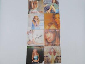 8 Cd's single 💋 Années 90 - 2000 💋 Minogue 💋 Spears 💋 Aguilera 💋 Cher
