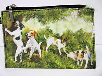 New Jack Russell Terrier Dog Zippered Handy Pouch Make-up/Coin Purse 5 Dogs