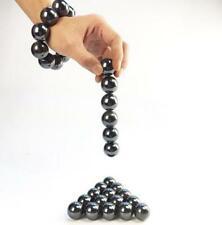 162530mm Black Big Neodymium Magnetic Round Hematite Singing Spherical Magnets