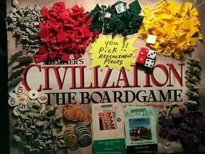 Sid Meiers Civilization Game Replacement Pieces YOU PICK Eagle Games FREE SHIP