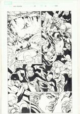 Mighty Avengers #29 p.13 - Quicksilver and U.S. Agent Action - art by Khoi Pham