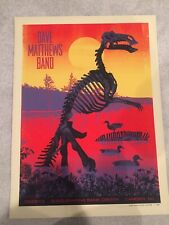 Dave Matthews Band Poster 2013 Camden Nj Dino N2 Signed & Numbered Rare!