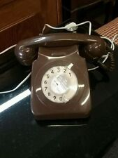 Brown 1980s Collectable Telephones