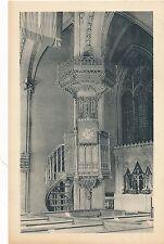 NEW YORK CITY – Trinity Church The Pulpit
