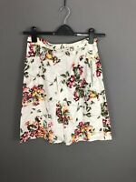 TED BAKER Skirt - Size 2 UK10 - Floral - Great Condition - Women's
