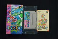 Complete Yoshi's Island - Rare Japanese SNES Version - Super Famicom CIB SFC