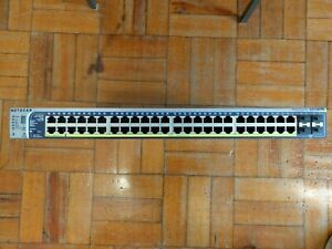Netgear ProSafe GS748TPS Smart PoE Stackable Switch 48 Port Gigabit