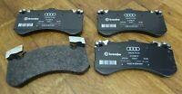 NEU ORIGINAL AUDI A8 S8 4H BREMSBELÄGE 400 x 38 mm VORNE 4H0698151J 4H0698151Q