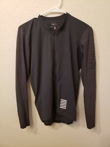 Elite Rapha Long Sleeve Gray Jersey Cycling Shirt Men's XL. EXCELLENT CONDITION