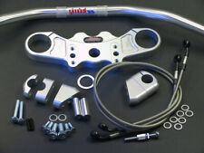 Abm Superbike Lenker-Kit Kawasaki ZX-9 R (ZX900E) 02-ff Argento