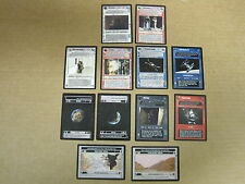 Star Wars CCG 12 Rare cards OTSD, Mint