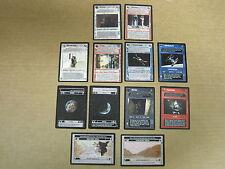 Star Wars CCG 12 Rare cards OTSD, Mint