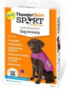 ThunderWorks ThunderShirt Dog New Fuchsia Sport XX-Small Anxiety Relief Vest