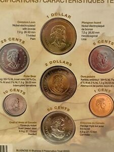 Canada Gift Set Celebrate This Country Coin Set NEW & Sealed