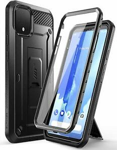 For Google Pixel 4 XL Case, SUPCASE UBPro Holster Cover wth Screen Protector