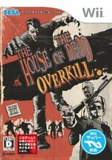 Wii House of the Dead: Overkill Japan Import Game Japanese